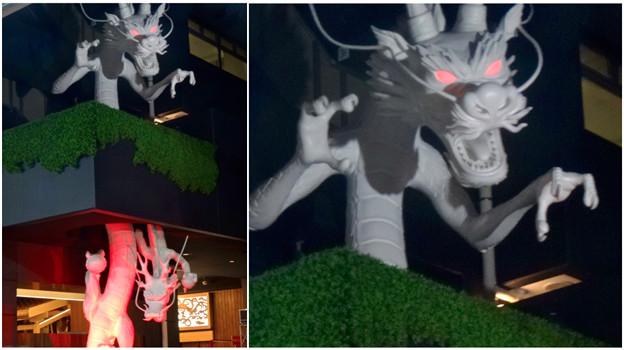大須万松寺:龍の像に様々なエフェクト!? - 10(目が紅く光る)