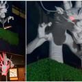 写真: 大須万松寺:龍の像に様々なエフェクト!? - 10(目が紅く光る)