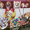 名古屋ブラジルフェスタで売ってたカラフルなアイス「バブルワッフル」 - 3