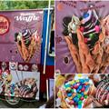 Photos: 名古屋ブラジルフェスタで売ってたカラフルなアイス「バブルワッフル」 - 4