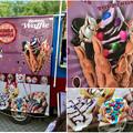 Photos: 名古屋ブラジルフェスタで売ってたカラフルなアイス「バブルワッフル」 - 6