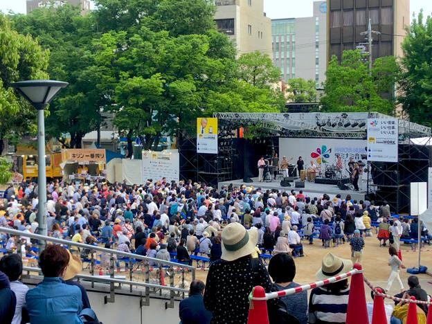 栄ミナミ音楽祭 2018 No - 48:沢山の人たちがいた矢場公園会場