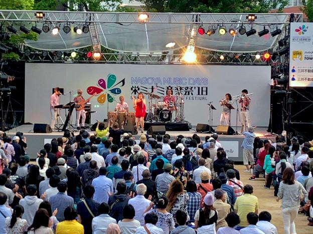 栄ミナミ音楽祭 2018 No - 50:Noraさん(オルケスタ・デ・ラ・ルス)のライブパフォーマンス