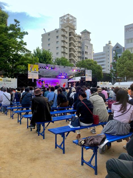 栄ミナミ音楽祭 2018 No - 52:沢山の人たちがいた矢場公園会場