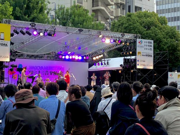 栄ミナミ音楽祭 2018 No - 54:Noraさん(オルケスタ・デ・ラ・ルス)のライブパフォーマンス