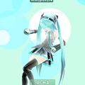 写真: 初音ミクなどのキャラクターをAR表示するアプリ「みくちゃ」- 1:起動画面
