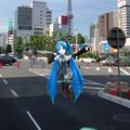 写真: 初音ミクなどのキャラクターをAR表示するアプリ「みくちゃ」- 36:実際の写真に合成!