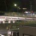 写真: 桃花台線の旧車両基地進入高架撤去工事(2018年5月15日) - 5