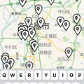 写真: Qi充電器が置いてるお店を探す事ができる「Aircharge Qi」-  4