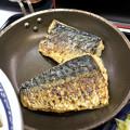 写真: 吉野家:炙り塩鯖牛定食 - 2