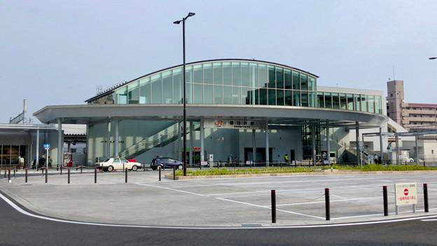 整備が完全に終わっていたJR春日井駅北口(2018年5月26日) - 18:ロータリー中央部はバス待機場に