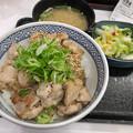 写真: 吉野家:ねぎ塩鶏丼 - 1
