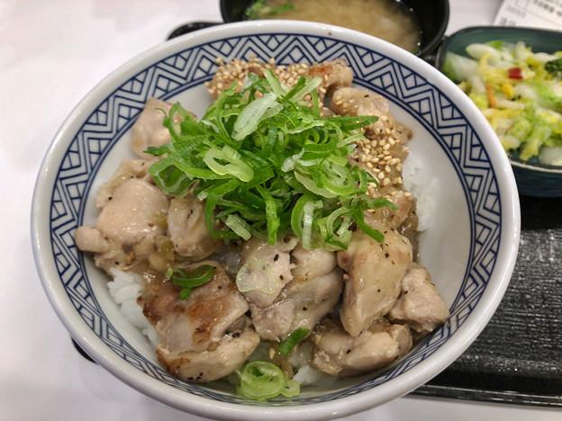 吉野家:ねぎ塩鶏丼 - 2