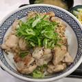 写真: 吉野家:ねぎ塩鶏丼 - 2