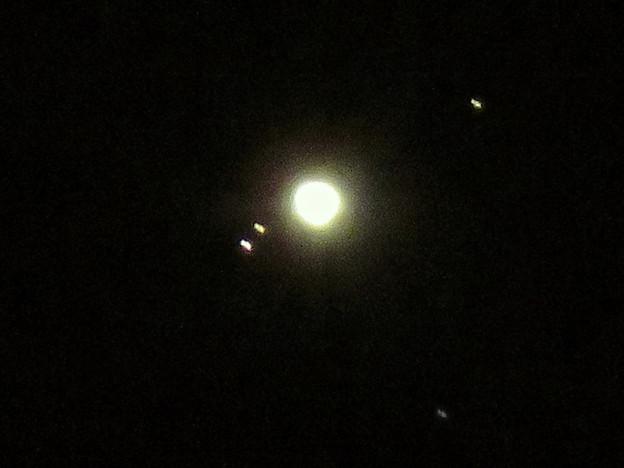 手ブレしちゃったけど、SX730HSだと木星衛生の「ガニメデ」と「イオ」が撮れた! - 1