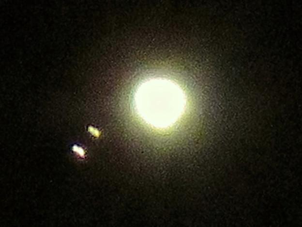 手ブレしちゃったけど、SX730HSだと木星衛生の「ガニメデ」と「イオ」が撮れた! - 2