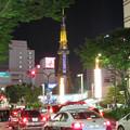 写真: 大津通から見た夜の名古屋テレビ塔 - 1