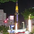 Photos: 大津通から見た夜の名古屋テレビ塔 - 2