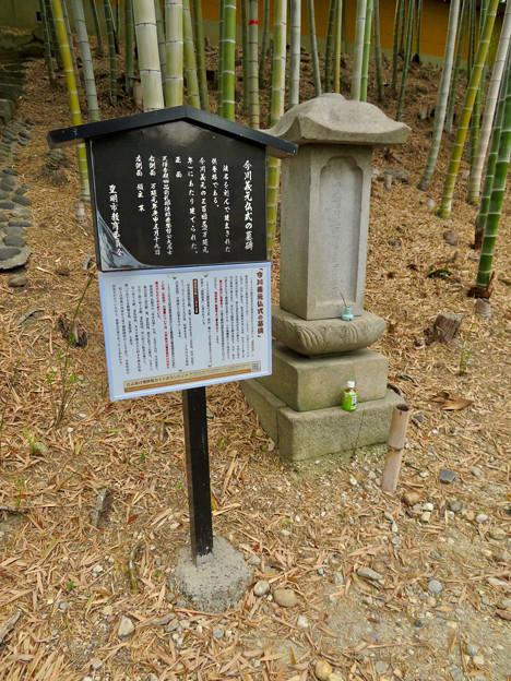 高徳院 No - 9:今川義元の仏式の墓