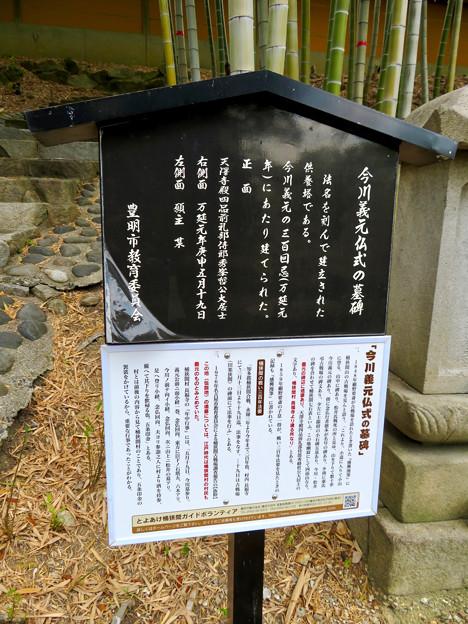 高徳院 No - 10:今川義元の仏式の墓