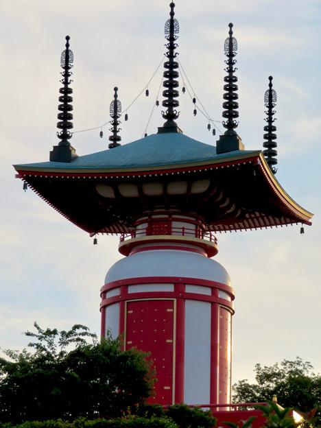 高徳院 No - 42:印象的な塔