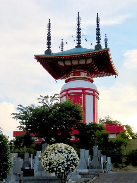 高徳院 No - 46:印象的な塔