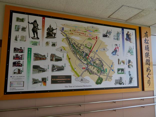 有松駅 - 12:有松桶狭間めぐりの地図