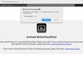 写真: BetterTouchToolのライセンス購入 - 1:アプリ起動を求めるアラート