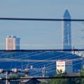写真: 桃花台から見た東山スカイタワー - 1