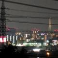 桃花台から見た夜の名港中央大橋(名港トリトン) - 3