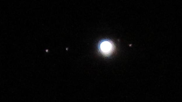 SX730 HSで撮影した木星とガリレオ衛星 - 2