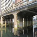 写真: 堀川沿いから見上げた五条橋 - 2