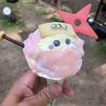写真: 金シャチ横丁:宗春ゾーンで売ってる人気の「忍者アイス」(くノ一バージョン) - 2