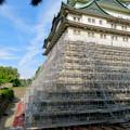 名古屋城:石垣調査用の足場を設置?(2018年6月17日) - 27