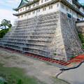名古屋城:石垣調査用の足場を設置?(2018年6月17日) - 30