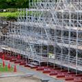 名古屋城:石垣調査用の足場を設置?(2018年6月17日) - 32