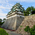 名古屋城:石垣調査用の足場を設置?(2018年6月17日) - 34