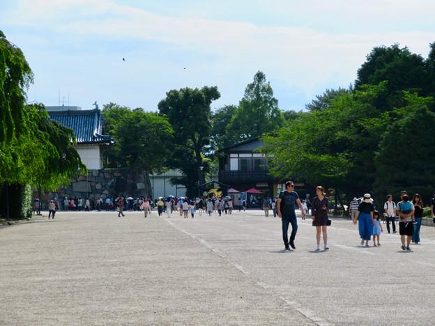 大勢の人が来ていた日曜の名古屋城 - 1