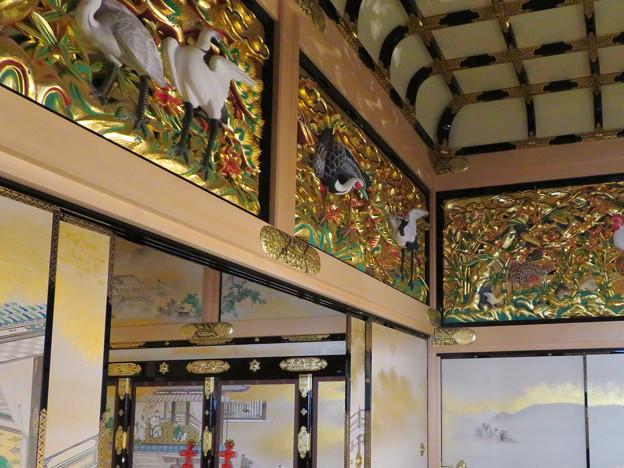 名古屋城本丸御殿 - 45:欄間のツル
