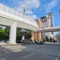 名古屋高速:丸の内出入り口のカーブ - 1