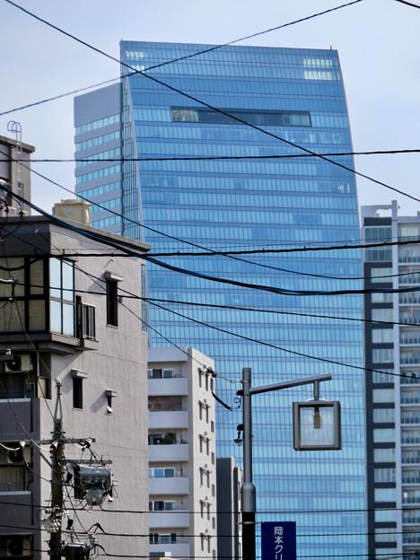 五条橋手前から見たルーセントタワー - 2
