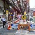 Photos: 歩道片側が工事してた円頓寺商店街(2018年6月17日) - 2