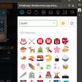 写真: Vivaldi WEBパネル:絵文字活用に便利な「EmojiCopy」- 3:英語で絞り込み(Japan)