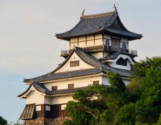 夕暮れ時の犬山城 - 4