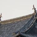 様々な角度から見た犬山城に新たに設置されたシャチホコ - 3