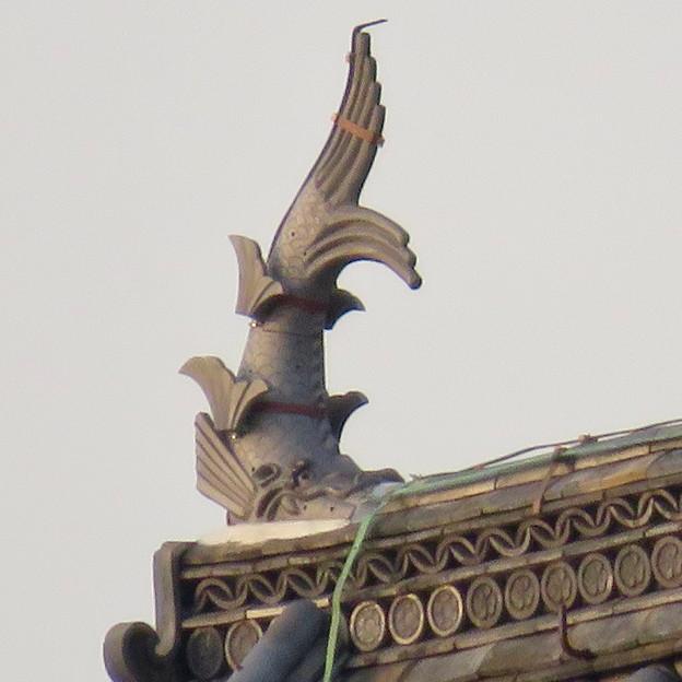 様々な角度から見た犬山城に新たに設置されたシャチホコ - 5