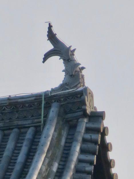 様々な角度から見た犬山城に新たに設置されたシャチホコ - 7