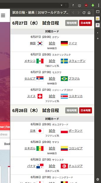 Photos: Vivaldi WEBパネル:朝日新聞iのワールドカップ特集 - 2