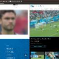 写真: Vivaldi:タブタイリングで2つのワールドカップ動画を同時視聴! - 2