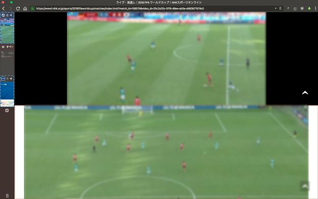 Vivaldi:タブタイリングで2つのワールドカップ動画を同時視聴! - 9(マルチアングル同時視聴)